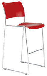 40/4 plastci stacking chair