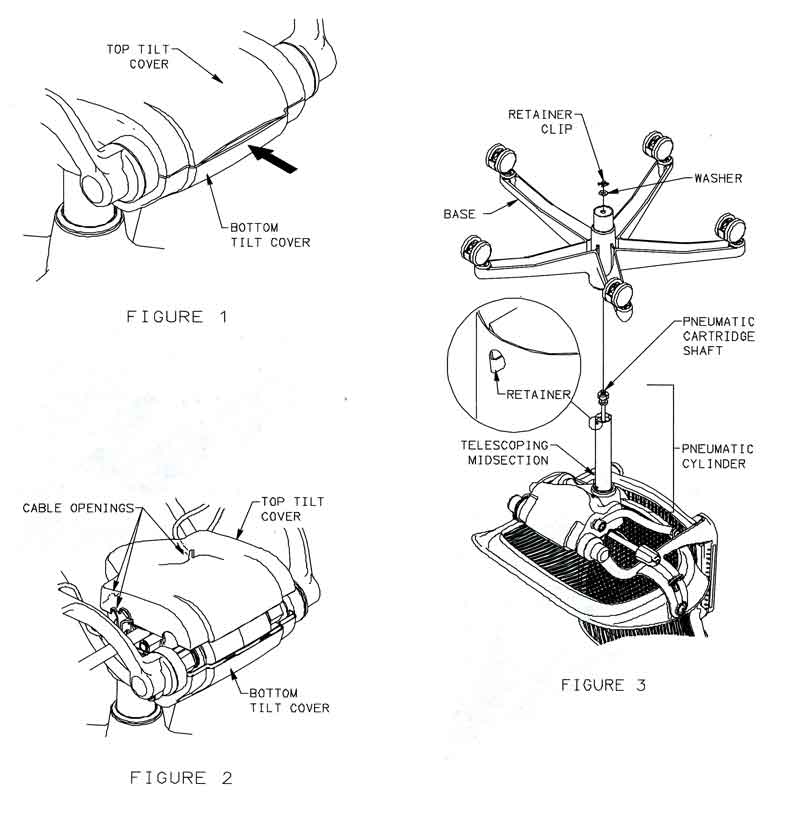aeron  u00ae tilt cover replacement