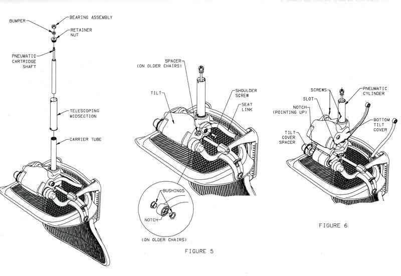 Aeron Chair Replacement Parts 174 Tilt Cover