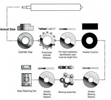 Steelcase Replacement bearing kit